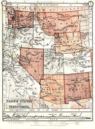 Map Of California And Oregon by United States Digital Map Library About