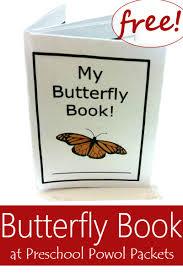 my butterfly book free preschool powol packets