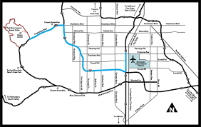 Las Vegas Hotel Strip Map by Programs National Conservation Lands Nevada Red Rock Canyon
