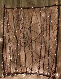 lighted twig screen for the sides of the back porch small lighted twig screen for the sides of the back porch