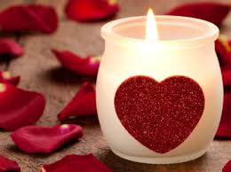Herz Mit Kerzen Bilder by Brennende Kerze Mit Herz Burning Candle With Heart Wallpapersfun Com