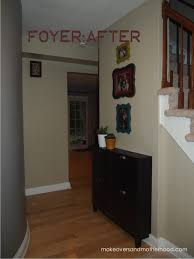 foyer makeover makeovers and motherhood