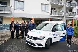 Bad Berga Neuer Vw Caddy Als Vr Mobil Für Die Seniorenbetreuung Region