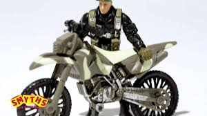 motocross action figures smyths toys soldier force steel badger playset youtube