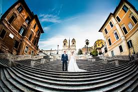 spanische treppe in rom hochzeitsbilder in rom