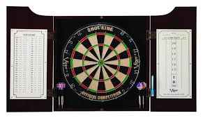 White Dartboard Cabinet Dart Cabinets And Backboards