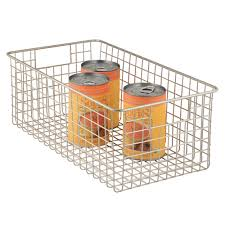 Plastic Shelving Unit by Storage Baskets In Plastic Wire U0026 Fabric Storables