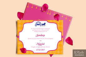 unique indian wedding cards kards creative indian wedding invitations caricature
