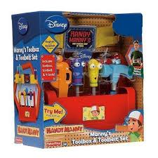 amazon handy manny manny u0027s toolbox u0026 toolbelt toys u0026 games