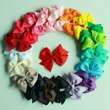 boutique bows 20pcs big hair bows boutique alligator clip grosgrain ribbon