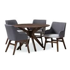 18 solid wood dining room tables johannesburg baxton studio monte 18 solid wood dining room tables johannesburg baxton studio monte mid century modern walnut wood round