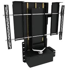 outdoor tv lift cabinet tv lift swivel section future automation