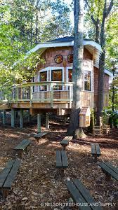 photo tour owl u0027s nest treehouse library u2014 nelson treehouse