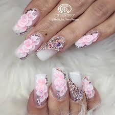 these nails are so neat acrylic nails art and design