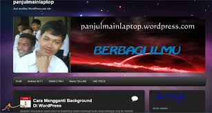 cara membuat background di blog wordpress 06 juni 2012 faiz blog