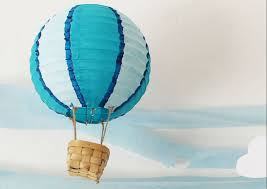 whimsical and colorful air balloon decor how ornament my