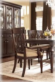 bradford dining room furniture 7 piece dining set rectangular