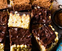 quick and easy no mars bar slice wholefood simply