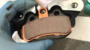 front brake pad replacement 11 u0027 harley davidson fxdb youtube