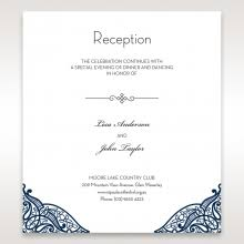 reception card wedding invitation royal frame bh5088 sle only ebay