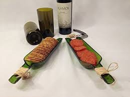 wine bottle cheese trays serving tray cheese and cracker tray repurposed wine
