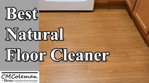 homemade natural floor cleaner youtube