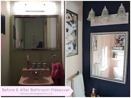 Small Bathroom Makeovers Before And After - save the pink tile u2013 1970s small bathroom makeover complete
