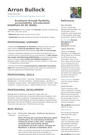 production manager resume samples visualcv resume samples database