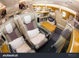 A380 Floor Plan by Dubai Uae November 09 2015 Emirates Stock Photo 360057224