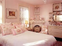 pink shabby chic bedroom beautiful pink decoration