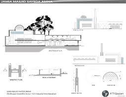 mosque floor plan jamia masjid syeda amina u2013 attiqayyam