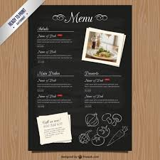 photoshop menu template menu list vectors photos and psd files free