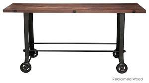 Wooden Bar Table Wooden Bar Table Reclaimed Wood Bar Restaurant Counter Community