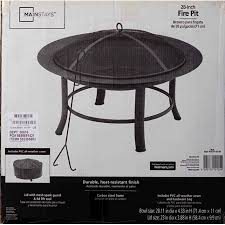 fire pit black friday mainstays 28