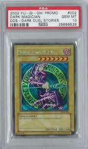 yugioh dark duel stories dds dark magician dds 002 psa 10 gem mint