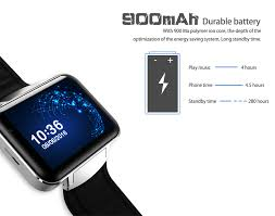 domino dm98 2 2 inch android 4 4 3g smartwatch phone mtk6572 dual