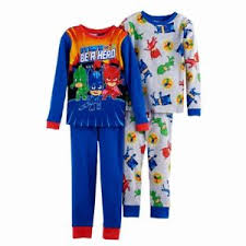 boys pj masks 4 6 8 pajamas shirt pant one set blue or gray catboy