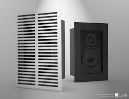 home theater wall speakers an in wall speaker or a decorative air vent leon will custom cut