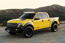 Yellow Ford Ranger Truck - jeremy clarkson to drive hennessey ford f 150 velociraptor 600