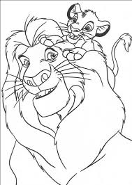 free printable simba coloring pages for kids throughout simba