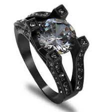 black wedding rings for jewelry size 9 white sapphire black rhodium plated mens wedding