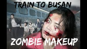 train to busan zombie inspired makeup youtube
