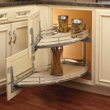 blind corner kitchen cabinet ideas how to make blind corner cabinet space more useful