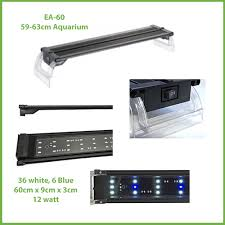 60 watt aquarium light beamswork ea 60 led light 60cm aquarays