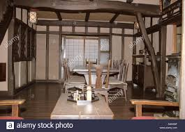 Western Furniture Japan Tokyo Edo Tokyo Museum Traditional House With Western Style