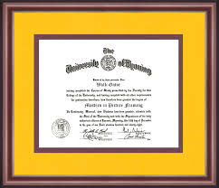 frame for diploma of wyoming diploma frame talking walls