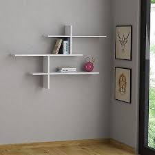 Wood Shelves For Walls by Best 25 White Wall Shelves Ideas On Pinterest Floating Wall