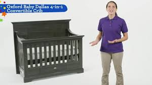 Convertible Crib With Storage Oxford Baby Dallas 4 In 1 Convertible Crib Slate Babies R Us