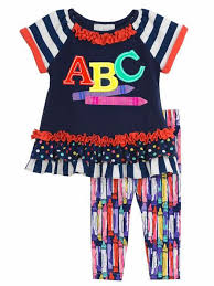 editions navy abc crayon print set