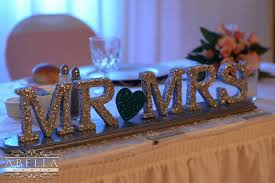 mr mrs sign for wedding table glitterfest real inspiration from top new jersey wedding venues